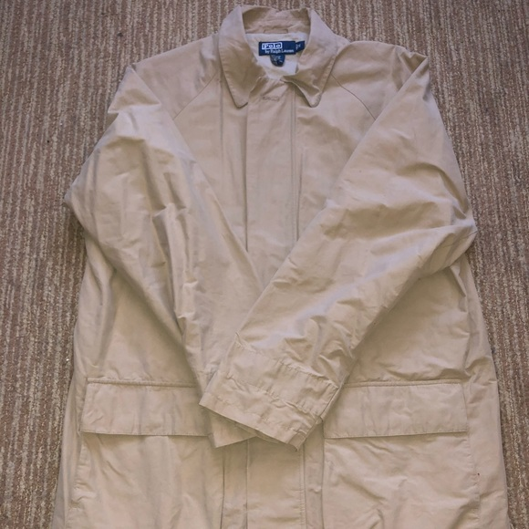 Polo by Ralph Lauren Other - Beige polo Ralph Lauren small pea coat trench mens